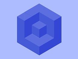 2.5D立方体