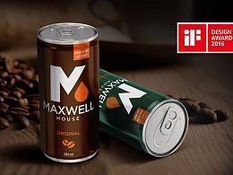 2016 IF设计奖 韩国MAXWELL咖啡包装设计