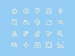 Icon练习(附源文件psd)