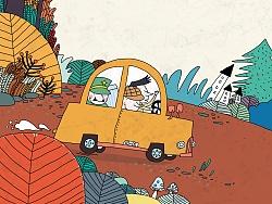 《侦探3》杂志插画