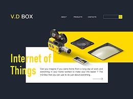 V.D Box 智能家居界面设计