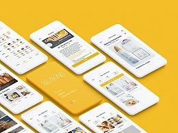 Bbaking-线上厨房分享平台concept ui design