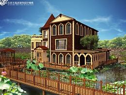 优雅与现代结合的美式别墅 达华庄园