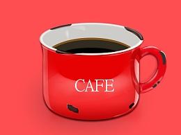 咖啡杯 相机  泡死食人花