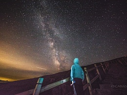 东灵山银河