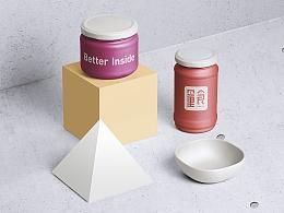 量食烘焙品牌字体标志设计