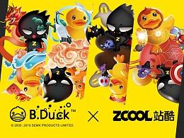 ZCOOL & B.Duck联名扑克设计