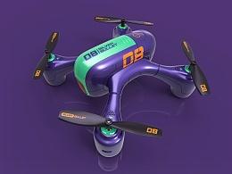 [商业设计]SilverBullet迷你四轴无人机飞行器概念设计