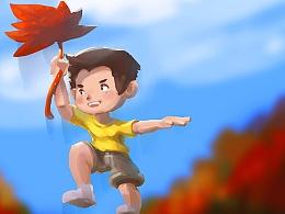 涂鸦365:101:Autumn。
