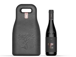 一组酒瓶及酒包装设计欣赏