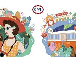 C&A环保棉图案设计