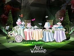 婚礼设计(爱丽丝梦游仙境)