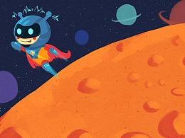 桔子星球——英雄小桔!