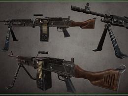 3D美术《枪械M240》