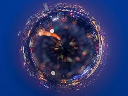 全景照片变成星球小行星CC2017启动画面效果教程