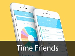 Time friends时间记录APP概念稿