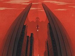《蜘蛛侠:英雄归来》(9.8 2017)-插画海报