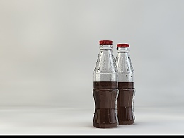 C4D练习--一个畸形的可乐