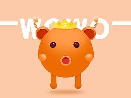 联通沃品牌卡通形象——wowo