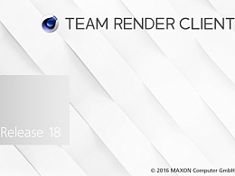 C4D Team Render设置