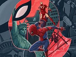 蜘蛛侠——能力越大,责任越大。