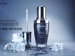 C4D+AE兰蔻小黑瓶视频广告