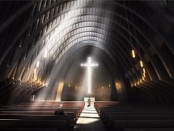 基督教堂项目-(建筑表现效果图)