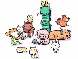 为什么十二生肖里面没有猫。。。
