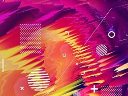 小米MIX2海报 《色剂与设计》 全面屏