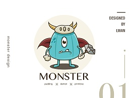 如何从临摹学习到原创一只小怪物(附源文件)