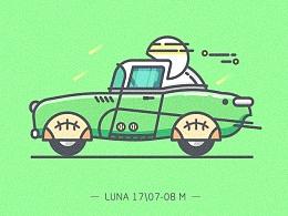 【插画】运动汽车合集