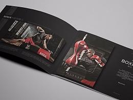 everlast健身格斗俱乐部宣传册画册排版设计