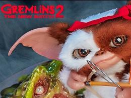 ECC好莱坞工作室《小魔怪2》 Gizmo等比例雕像