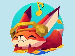 The little fox 手机主题图标