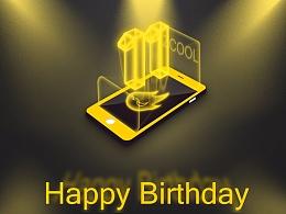 站酷11周年;一心一意为设计;HAPPY BIRTHDAY!