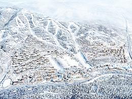 2022北京冬奥会项目-(建筑表现效果图)