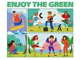享受这绿色——C&A环保棉产品图案设计大赛