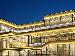 售楼部夜景照明设计