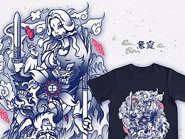 王的人-王者荣耀T恤图案征集