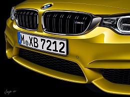 BMW M4 CGI work