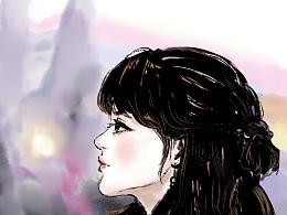 20170620-每日头像-帮惠姐画的头像