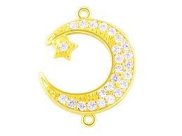 星月交辉 黄金钻石首饰精修