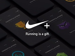 Nike+ running redesign concept