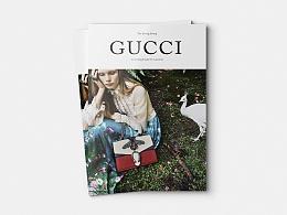 |杂志设计|《GUCCI》