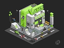 Pixel Vans Shop