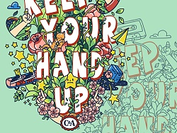 KEEP YOUR HAND UP