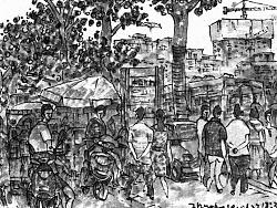 城市脉搏——从韦曲到张家堡(1)