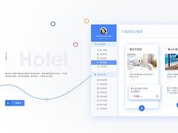 一整套后台界面设计和网页设计