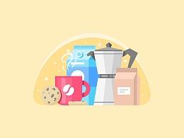 AI教程-咖啡场景插图