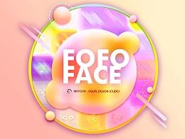 表情集锦《FOFO FACE - 魔性的五官》